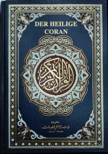 Der Heilige Koran Al Karim - dt./arab. & Umschrift القرآن الكريم