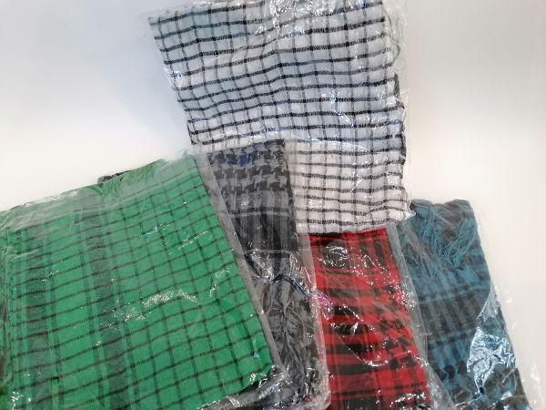 Schal verschiedene Farben 5er Packung